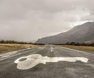 Straße, die zu Erfolg führt Lizenzfreies Stockbild
