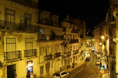 Straße DOS Anjos Portugals, Lissabon Rua Stockbilder