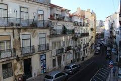 Straße DOS Anjos Portugals, Lissabon Rua Lizenzfreie Stockbilder