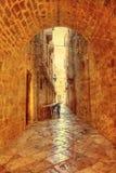 Straße in Dubrovnik stockfotografie
