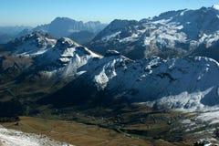 Straße durch die Alpen Lizenzfreies Stockfoto