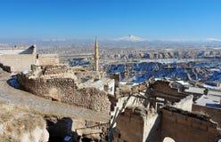 Straße einer alten Stadt im Mittleren Osten Stockfotos
