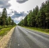 Straße für Autos Lizenzfreie Stockbilder