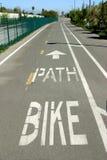 Straße für die Fahrräder Stockbild
