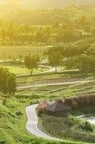 Straße für Fahrrad Stockfoto