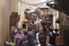 Straße in Fez Lizenzfreie Stockbilder