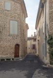 Straße in Frankreich Lizenzfreies Stockbild