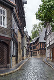 Straße in Goslar, Deutschland Stockfoto