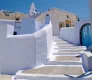 Straße in Griechenland Stockbild