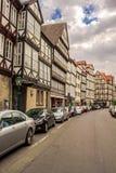 Straße in Hannover Deutschland stockbilder