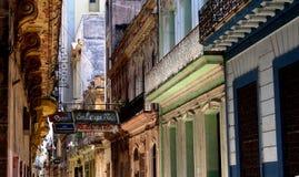 Straße in Havana Lizenzfreies Stockbild