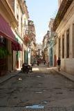 Straße in Havana Stockfotografie