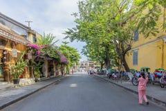 Straße, Hoi An, Vietnam stockbilder
