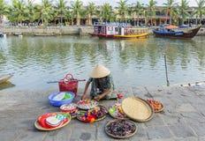 Straße, Hoi An, Vietnam stockbild