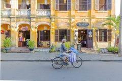 Straße, Hoi An, Vietnam stockfotografie