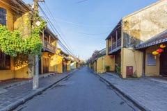 Straße, Hoi An, Vietnam lizenzfreies stockbild