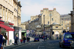 Straße im Bad, Großbritannien Lizenzfreies Stockfoto