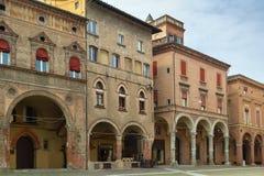 Straße im Bologna, Italien Stockbild