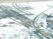 Straße im Flughafen Lizenzfreie Stockfotos