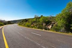 Straße im Golan Stockfotografie