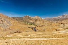 Straße im Himalaja Lizenzfreies Stockbild