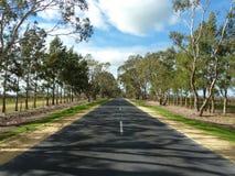 Straße im Land Victoria Lizenzfreie Stockfotografie