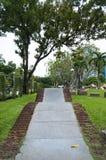Straße im Park Lizenzfreie Stockfotos