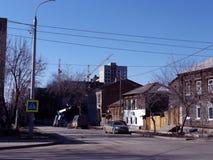 Straße im Samara stockfotografie