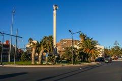 Straße im Valencia Lizenzfreies Stockbild