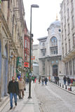 Straße in Istanbul Die Türkei Lizenzfreies Stockfoto