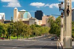 Straße Königs Willian, Adelaide Lizenzfreie Stockfotografie