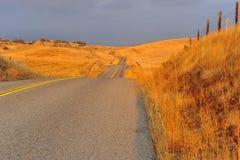 Straße in Kalifornien Lizenzfreie Stockbilder
