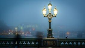 Straße lampost Straßenbeleuchtungsansammlung Lizenzfreies Stockfoto