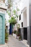 Straße in Marokko Lizenzfreie Stockfotos