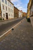 Straße Mesnicka in der Stadt Zagreb Lizenzfreie Stockfotografie