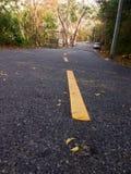 Straße mit Stockbild