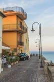 Straße mit einer Ansicht Italien Lizenzfreie Stockfotos