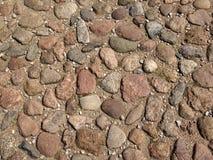 Straße mit Stein Stockbild
