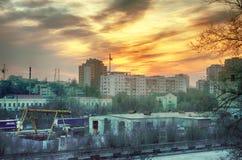 Straße Moskaus Varvarka stockfoto