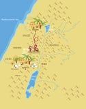 Straße nach Bethlehem Stockbild
