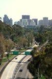 Straße nach San Diego, Kalifornien Lizenzfreies Stockbild