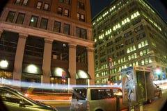 Straße nachts Stockfotos