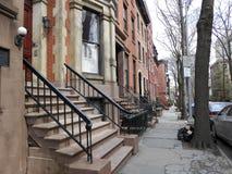 Straße New York Brooklyn, Manhattan Lizenzfreies Stockfoto