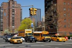 Straße in New York City Stockbilder