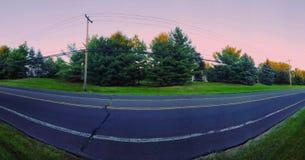 Straße in Newtown lizenzfreies stockbild