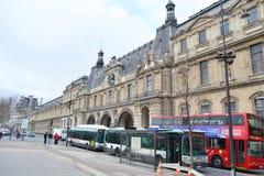 Straße in Paris Stockfoto