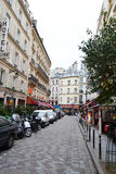 Straße in Paris Stockfoto