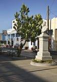 Straße Paseo EL Prado in Cienfuegos kuba lizenzfreie stockfotografie
