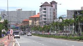 2. Straße Pattaya Jomtien Ansicht Talay 1 thailand stockbilder