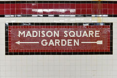 34. Straße Penn Station Subway Stopp - NYC Stockbild
